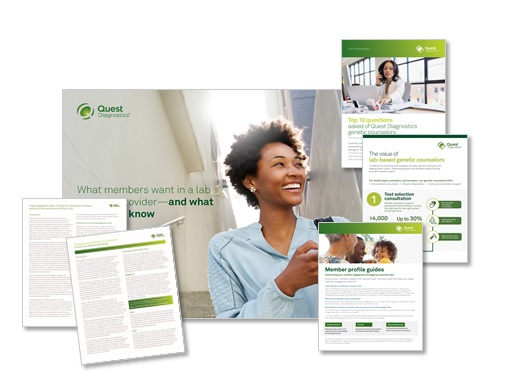 Quest Diagnostics - What members want in a lab services provider