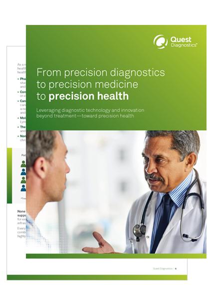 From precision diagnostics to precision medicine to precision health