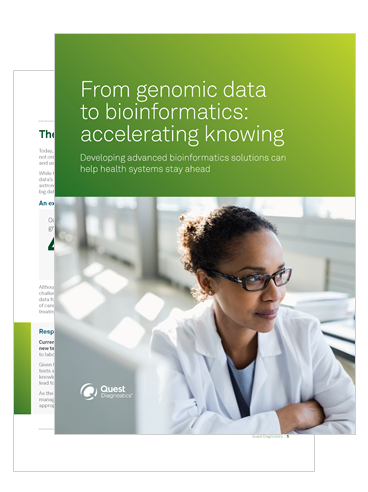 From genomic data to bioinformatics: accelerating knowing