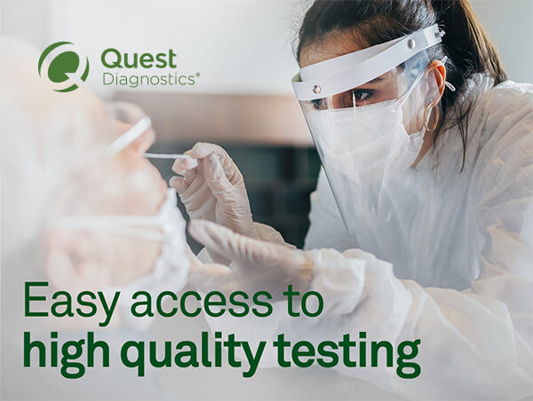Easy access to the most accurate testing