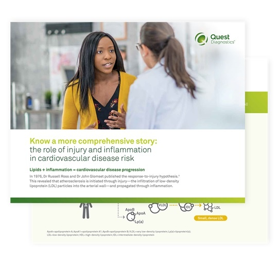 Quest Diagnostics - the role of injury and inflammation in cardiovascular disease risk
